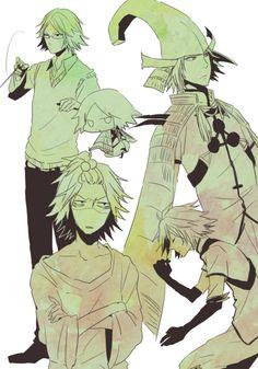 Art by: いろは (Pixiv ID: Sengoku Basara, Death Note, Cricket, Samurai, Original Art, Marvel, Fan Art, Cartoon, Manga