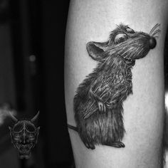 Ratatouille #remy Inquiries email me. Thank you. Vhuynh2911@gmail.com  #sanfranciso #losangeles #spektrahalo #tattoo #symbeos #skinart #tattooart #geometry #japanese #finelines #artwork #tattooed #btattooing #tattooing #blxckink #blackwork #blackandgrey #blacktattoos #blackink #inked #inkedup #sfink #illustration#blackworkerssubmission #geometrictattoo#darkartists#art