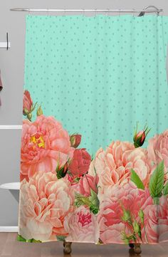 Bountiful Garden Shower Curtain ==
