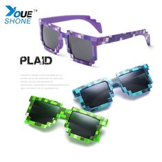 Fashion Sunglasses Kids cos play action Game Toys Minecrafter Square Glasses gifts children #Affiliate