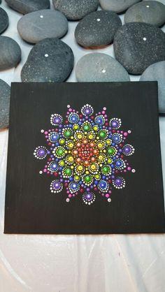 Mandala stones  www.pierreducoeur.com                                                                                                                                                      More