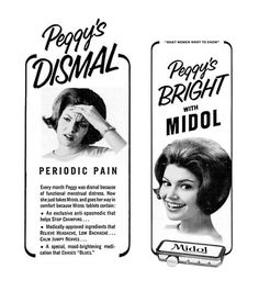 Detail from 1966 Advertisement for Midol