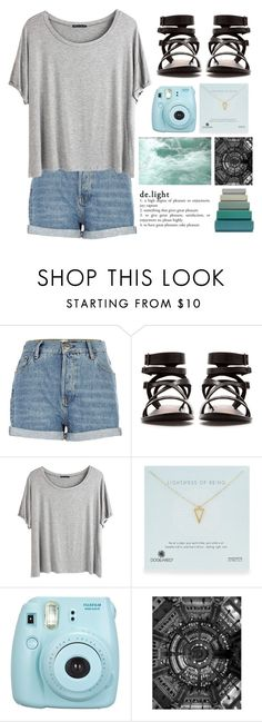"""oh it feels good to be loved.."" by tweetie12 ❤ liked on Polyvore featuring River Island, Zara, Chicnova Fashion, Dogeared, Pottery Barn and HAY"