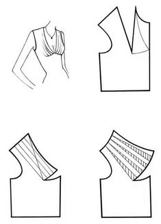 Sewing Lessons, Sewing Hacks, Sewing Tutorials, Dress Sewing Patterns, Clothing Patterns, Shirt Patterns, Pattern Sewing, Pants Pattern, Sewing Blouses