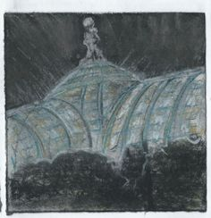 Grand Palais. Paris. Andi Ipaktchi illustration. illustratrice.com