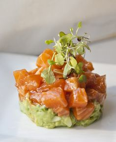 How good does this Salmon Ceviche look?
