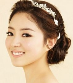 Wedding hairstyles korean Images