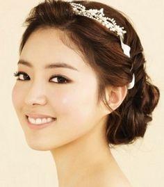 Wedding hairstyles korean Images