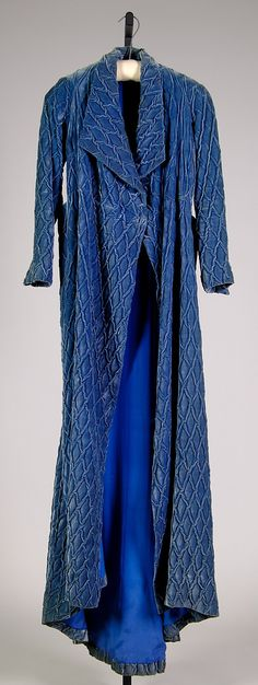 Elsa Schiaparelli dressing gown winter 1933-1934. Attributed to House of Schiaparelli  (French, 1928–1954).