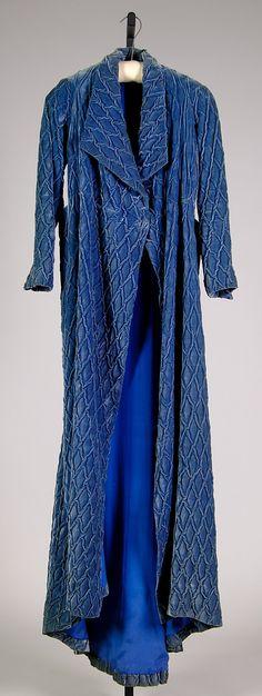 Elsa Schiaparelli dressing gown winter 1933-1934. Attributed to House of Schiaparelli  (French, 1928–1954).