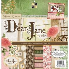 Die Cuts with a View - Dear Jane Collection - Foil Paper Stack - 12 x 12 at Scrapbook.com