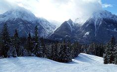 Watzmann-und-Hochkalter gesehen während einer Skitour am Hochshcwarzeck
