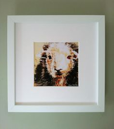 Check out this item in my Etsy shop https://www.etsy.com/uk/listing/518860027/limited-edition-herdwick-sheep-print