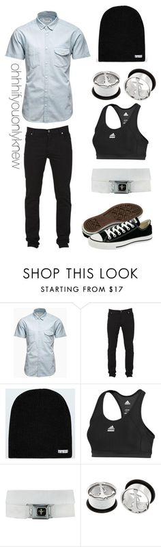 """Outfit for babe"" by ohhhifyouonlyknew ❤ liked on Polyvore featuring Jack & Jones, Cheap Monday, Neff, Converse, adidas, girlfriend and 060812"