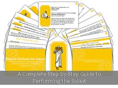 How to Perform the Salaat Card Set by CreativeMotivations on Etsy, $11.99