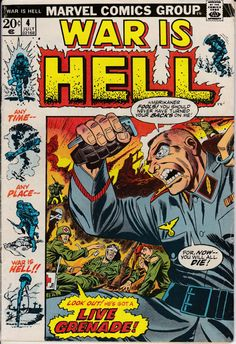 War Is Hell 4 July 1973 Issue Marvel Comics by ViewObscura
