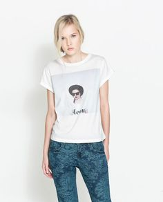 GIRLS PRINTED T-SHIRT from Zara