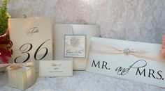 Gorgeous Brooch Wedding Invitations  by WrappedUpInDetails on Etsy, $7.75