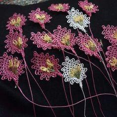 Needle Lace, Needlepoint, Tatting, Dandelion, Facebook, Model, Flowers, Bobbin Lace