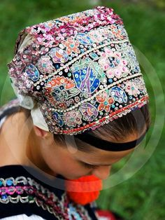 Dobrá Niva, Slovakia Folk Costume, Costumes, Folk Clothing, Bratislava, Traditional Outfits, Beautiful Outfits, Folk Art, Captain Hat, Czech Recipes