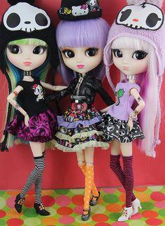 groove pullip tokidoki x hello kitty dolls