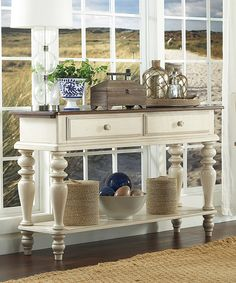 Look at this Pine Island Sideboard on #zulily today!