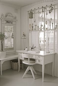 scandinavian white and light