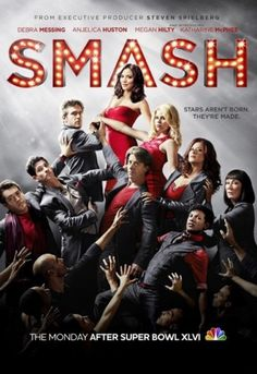 Smash.  My new favorite show.  Perfect for someone like me that grew up in the world of dance and B'way musicals, aspiring to be a Broadway 'gypsy'.