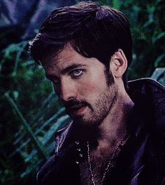 Jaw clenching at its best... Colin O'Donoghue -Killian Jones - Captain Hook  on Once Upon A Time