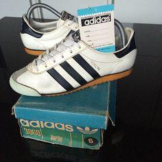 White Adidas Berlin