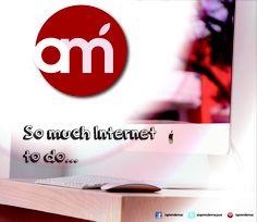Demasiado internet que hacer...