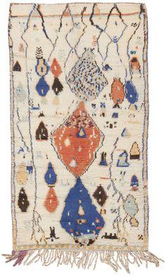 Moroccan Rug 45355 - by Nazmiyal