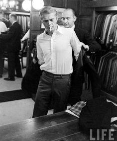 Damn, Steve McQueen Had Smoking Good Shopping Skills   GQ