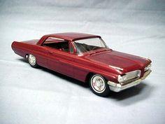 1962 Pontiac Bonneville 2 Door Ht promo model Model Cars Building, Promotional Model, Pontiac Bonneville, Scale Models, Diecast, Classic Cars, Gems, Trucks, Steel
