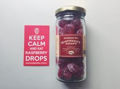 Nom nom nom. #raspberrydropsrock http://shopping.sovereignhill.com.au/collections/lollies/products/raspberry-drops