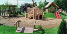 Planet Earth playscape
