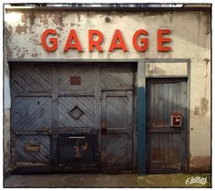 Old Garage, Barn Garage, Garage Art, Garage Tools, Garage Shop, Garage Workshop, Garage Studio, Motorcycle Workshop, Motorcycle Garage