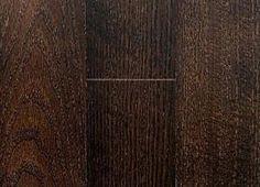 Floors - original oak floors stained dark coffee bean color