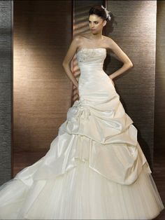 A-Line Silhouette Suited for Different Destination Wedding Dress