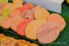 Sugar cookies made w