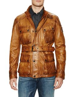 New Circuitmaster Leather Jacket from Revel in Leather: Up to 70% Off on Gilt