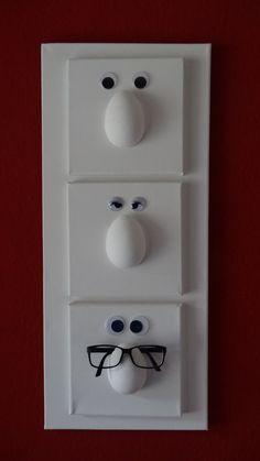 Deko-Objekte - Brillenhalter - ein Designerstück von Pruseliese79 bei DaWanda