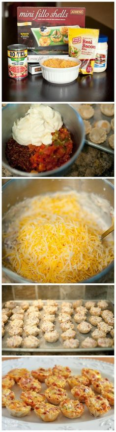 How To Make Rotel Cups