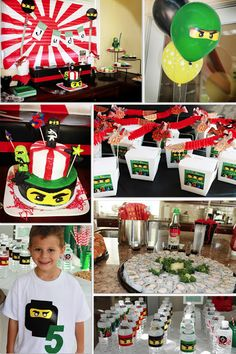 Creatively Quirky at Home: Jude turns FIVE Ninjago Birthday Style!