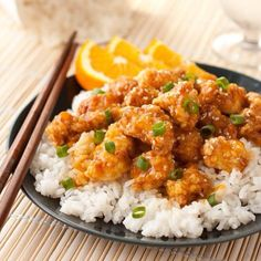 Meat Recipes, Chicken Recipes, Cooking Recipes, Healthy Recipes, Easy Healthy Breakfast, Healthy Eating, Good Food, Yummy Food, Orange Chicken