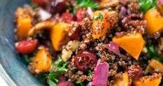Riquísima ensalada de Quinoa roja - Sabrosía