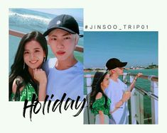 not bragging this out but this is legit my favorite jinsoo selca lmao; Couple Photoshoot Poses, Couple Photography Poses, Bts Girl, Kpop Couples, People Fall In Love, Blackpink And Bts, Blackpink Photos, Jennie Blackpink, Worldwide Handsome