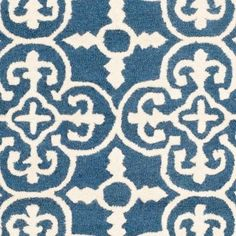 Safavieh Cambridge Navy/Ivory 6 ft. x 9 ft. Area Rug-CAM133G-6 at The Home Depot