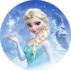 Frozen 018 27 cm - PAPEL ARROZ ESPECIAL