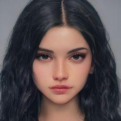 Digital Art Anime, Digital Art Girl, Digital Portrait, Portrait Art, Character Portraits, Character Art, Female Character Inspiration, Character Aesthetic, Fantasy Girl